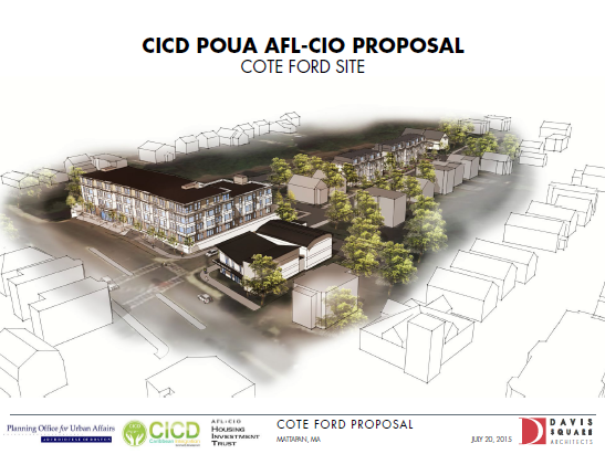 POUA Teams Up With CICD & AFLCIO on Cote Ford Project