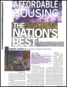 Affordable Housing Reader's Choice 2010