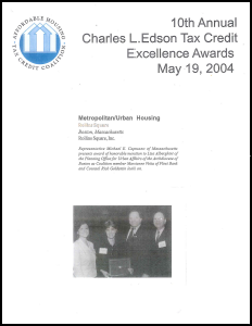Charles L. Edson Tax Credit Excellence 2004