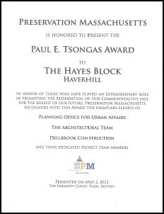 Paul E. Tsongas 2012